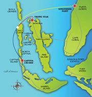 map of Cayo Costa